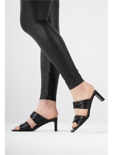 CZ London Sandalet Siyah